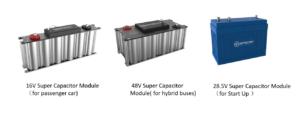 Super Capacitor modules - new energy auto