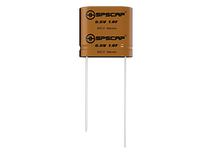 MCV Series backup capacitor