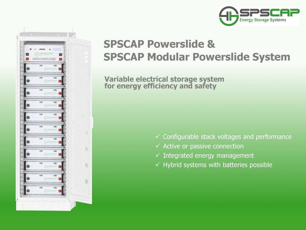SPSCAP Modular PowerSlide System